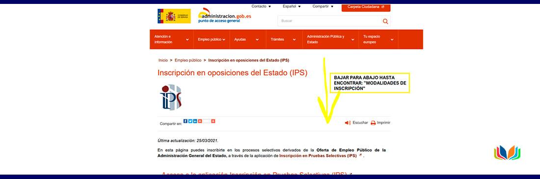 oposiciones de ayudante a IIPP 2021 online
